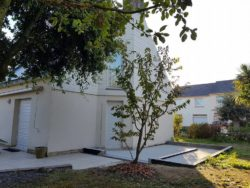Extension ossature bois (19 m²) - Saint-Nazaire (44) - Etape 1